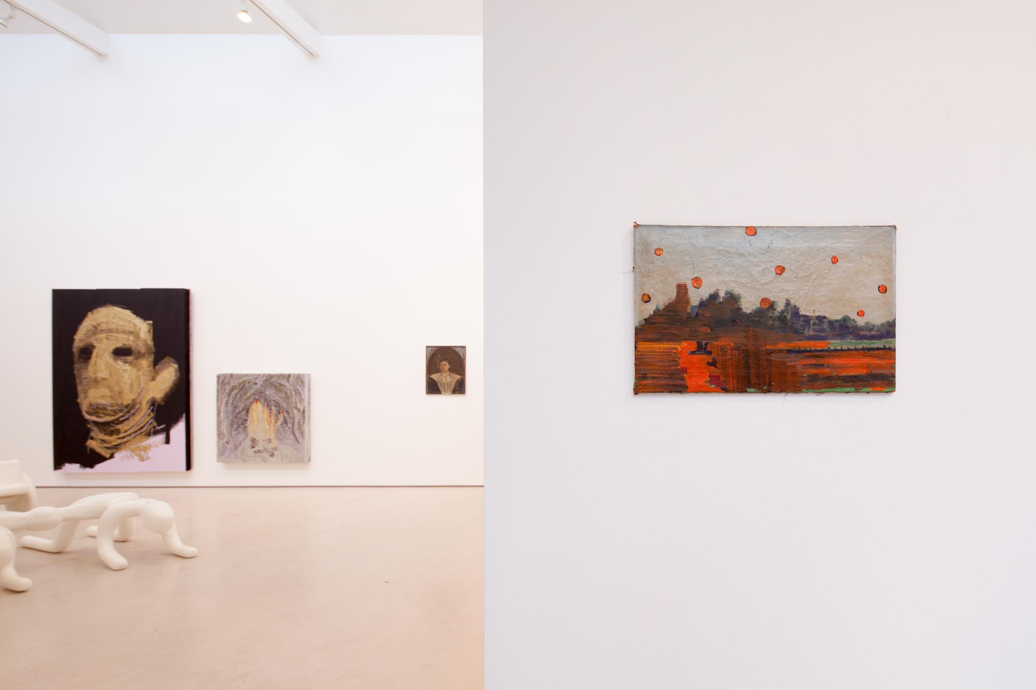"Exhibition view ""MIXED MEDIA XMAS"""